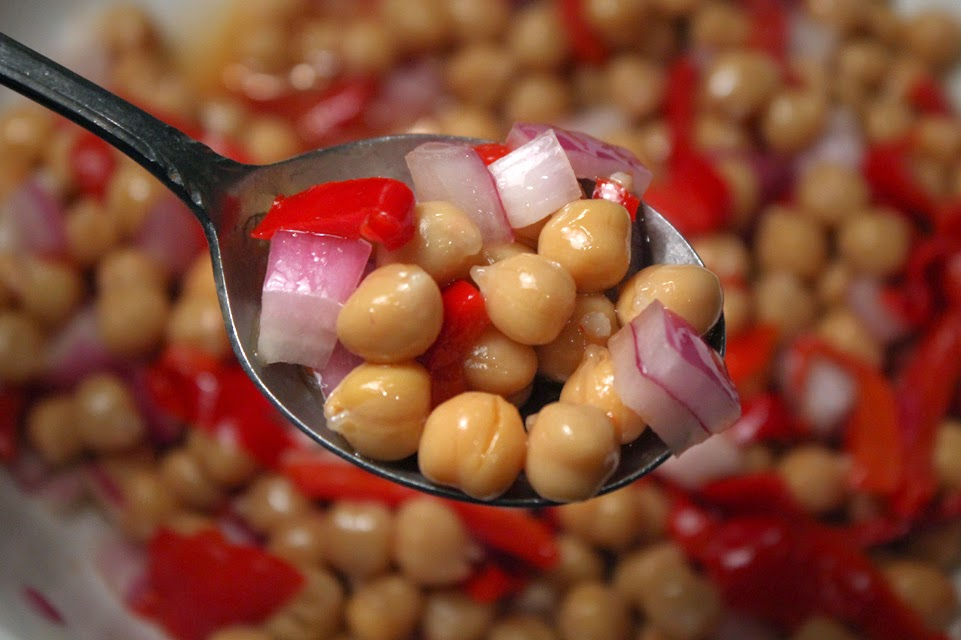 chickpea spoon