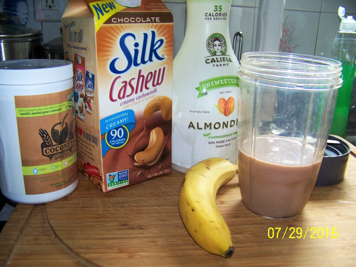 Smoothiealmondmilk